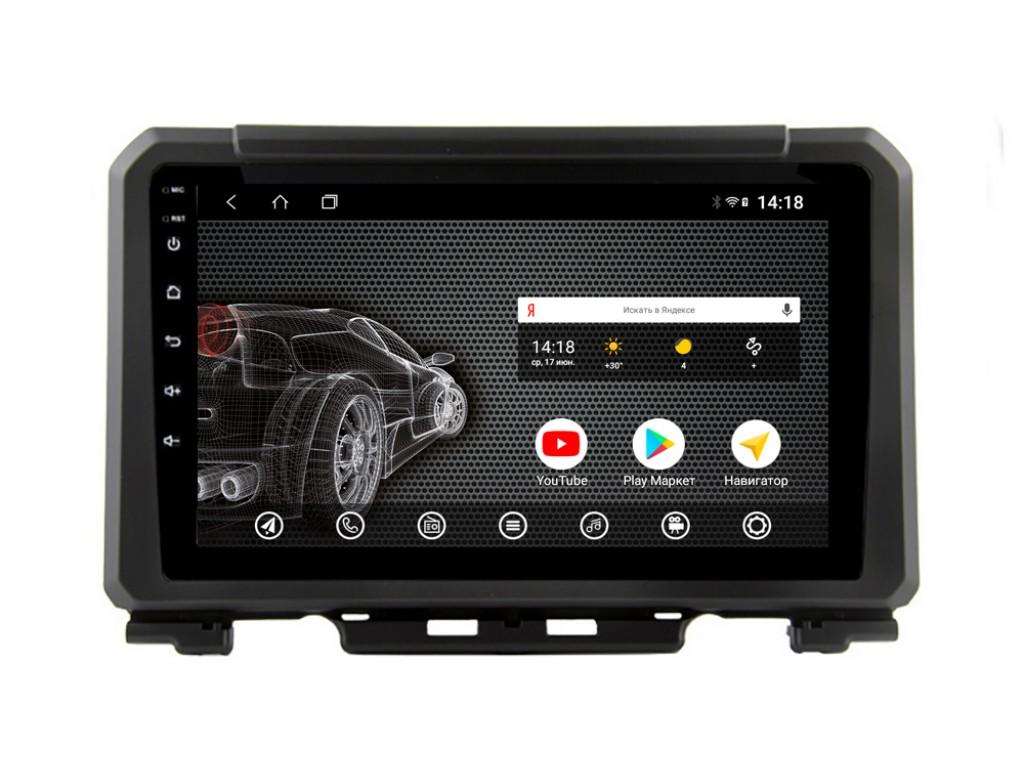 Головное устройство vomi ST405R9-T3 для Suzuki Jimny 2018+ (+ Камера заднего вида в подарок!)