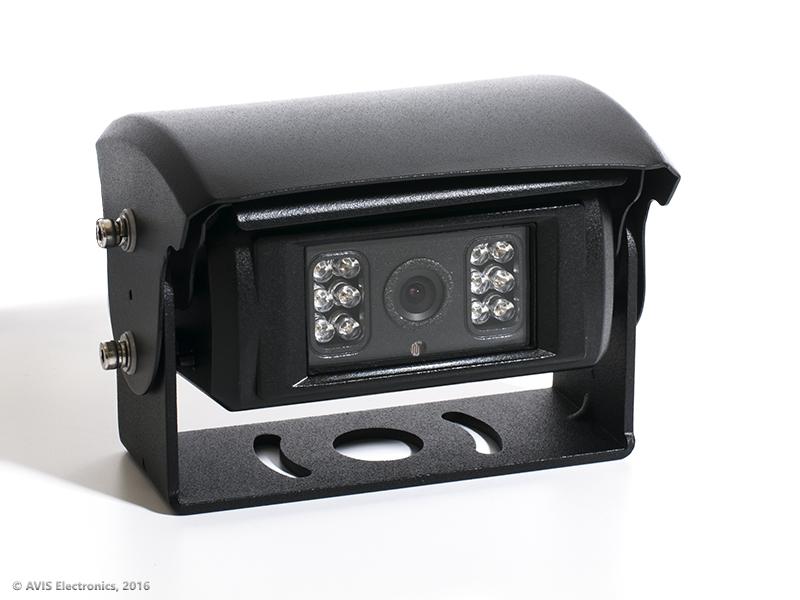 CCD камера заднего вида с автоматической ИК-подсветкой, металлической шторкой и авто подогревом AVIS Electronics AVS660CPR