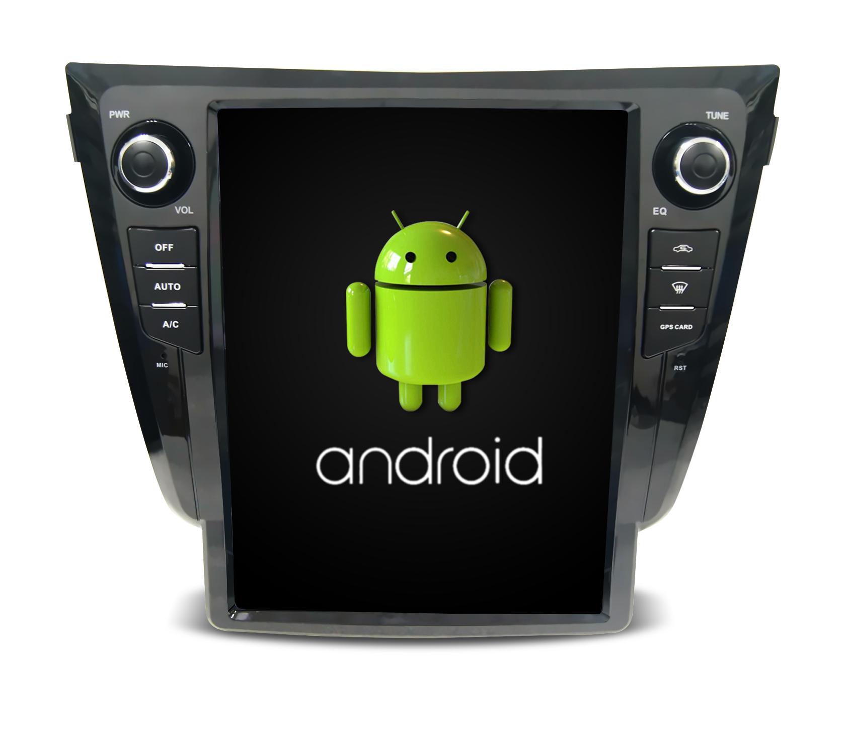 Штатная магнитола CARMEDIA SP-12106 Tesla-Style для Nissan Qashqai II 2014+, X-Trail 2015+ (T32) Android 7.1.2 vivibright gp90 lcd projector 3200 lumens android 4 44 os