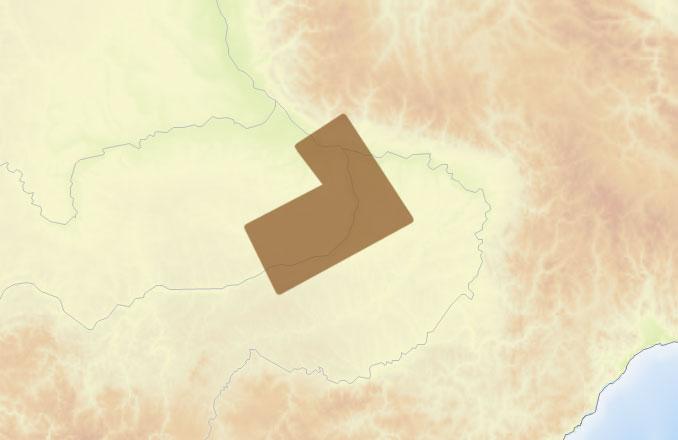 Карта C-MAP RS-N501 - Лена: Олекминск - Алдан