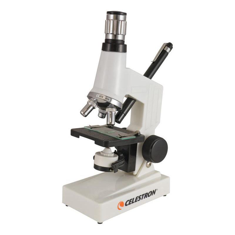 Микроскоп Celestron 40x-600x (+ Книга «Невидимый мир» в подарок!) цифровой микроскоп celestron pro 44308