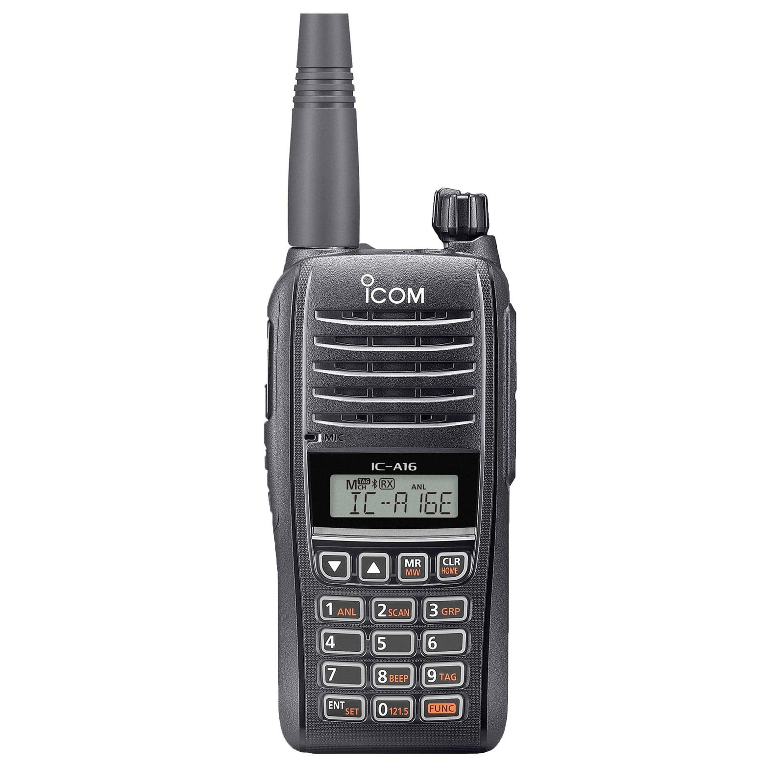цена на Авиационная портативная рация ICOM IC-A16 E