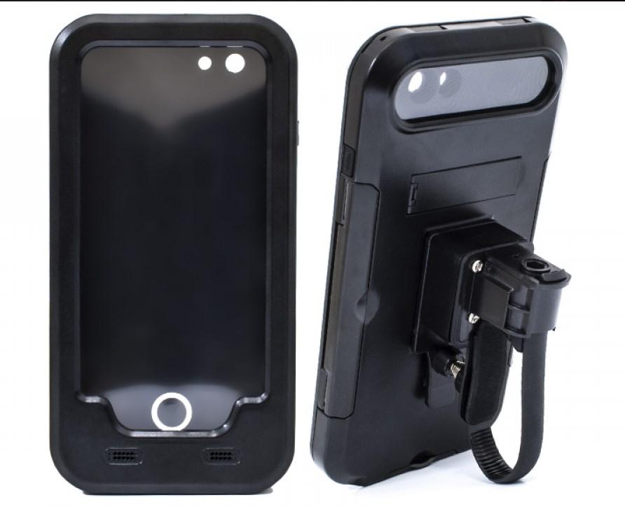 Держатель для iPhone 6 Plus и 6s Plus Avis DRC6IPHONE Черный аудиосистема для мотоцикла avis мт185 black