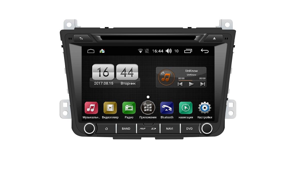 Штатная магнитола FarCar s170 для Hyundai Creta 2016+ на Android (L407) штатная магнитола farcar s130 для hyundai santa fe 2012 big screen на android w209