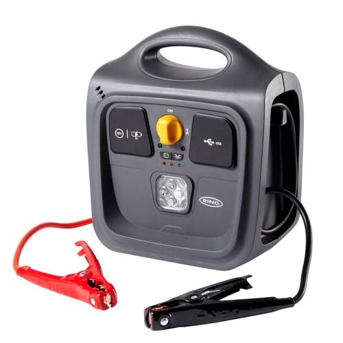 Купить со скидкой Пусковое устройство и источник питания Ring Automotive REPP148 9AH POWERPACK (фонарь, USB)
