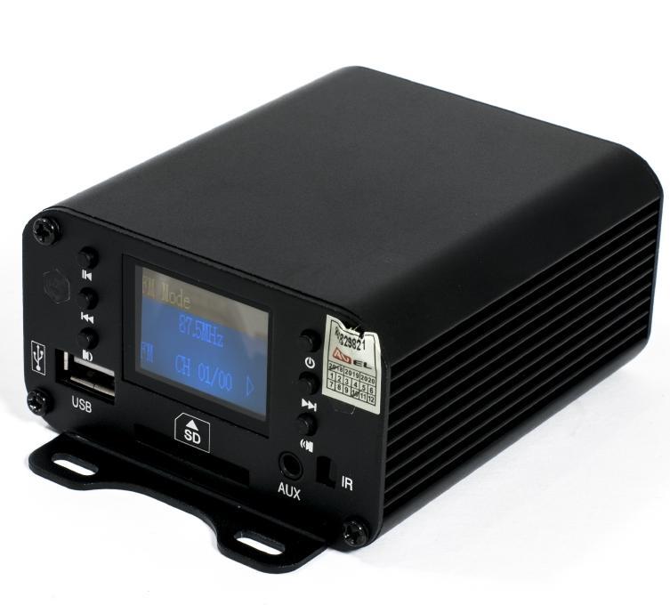 цена на Двухканальный усилитель для мотоцикла DRC111BT (+ Салфетки из микрофибры в подарок)