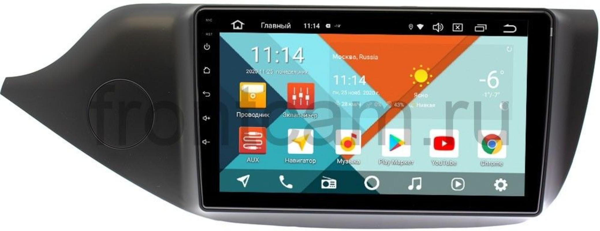 Штатная магнитола Kia Ceed II 2012-2018 (матовая) Wide Media KS9098QM-2/32 DSP CarPlay 4G-SIM Android 10 (+ Камера заднего вида в подарок!)