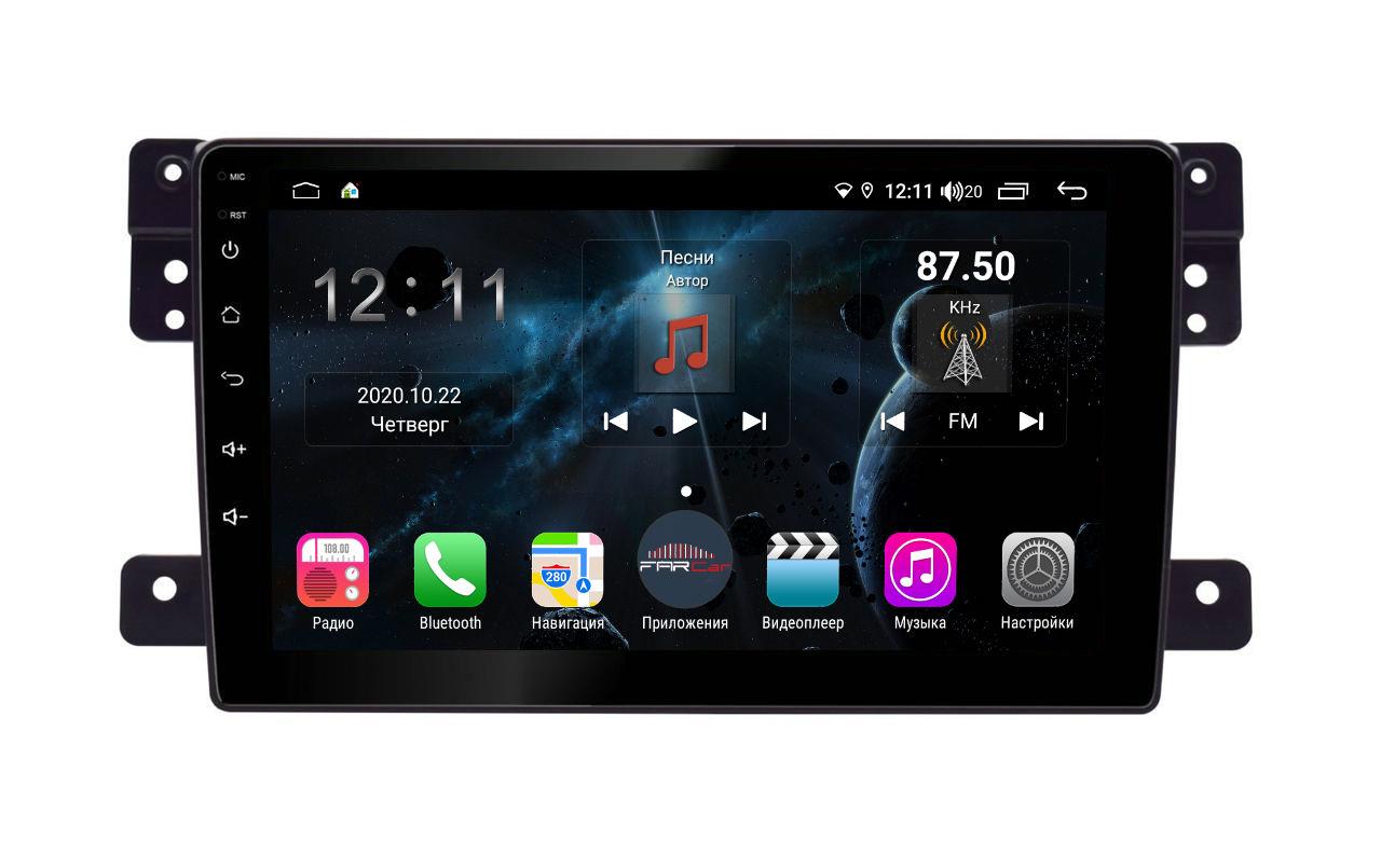 Штатная магнитола FarCar s400 для Suzuki Vitara на Android (H053R) (+ Камера заднего вида в подарок!)