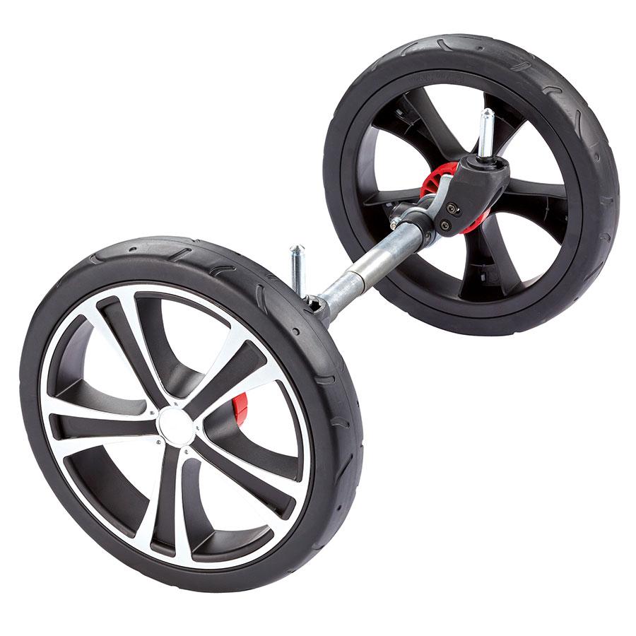 Картинка для Колесо для коляски GESSLEIN INDY, серебристый, 12 дюймов