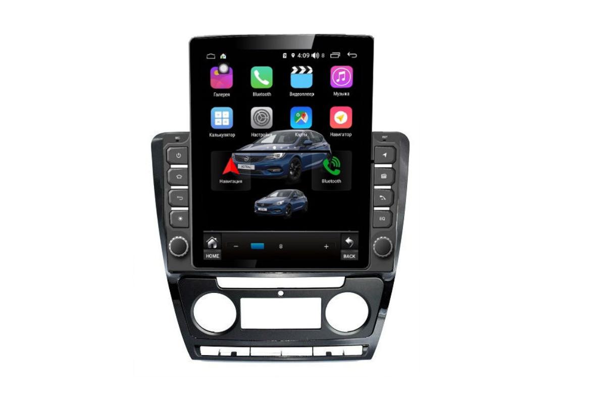 Штатная магнитола FarCar s300+SIM 4G для Skoda Octavia на Android (RT005R) (+ Камера заднего вида в подарок!)