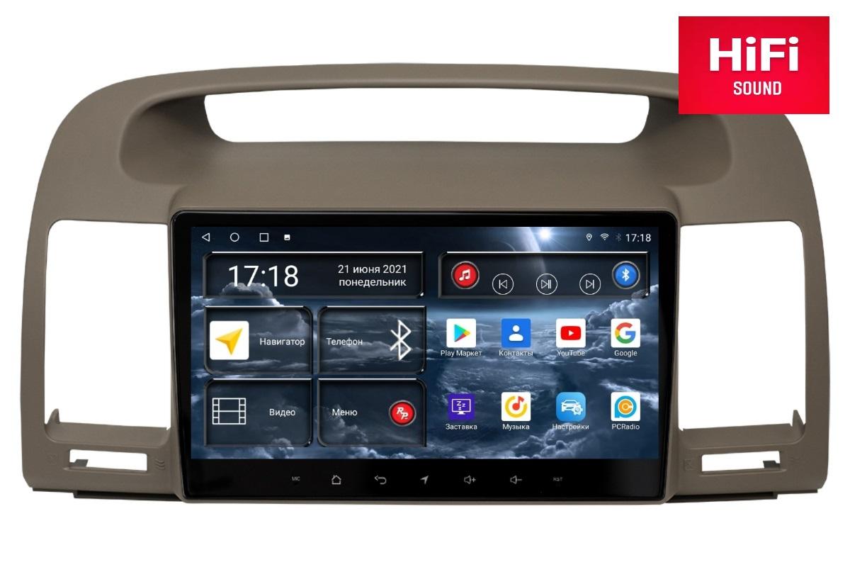Автомагнитола RedPower 75164 Hi-Fi для Toyota Camry XV30 (09.2001-03.2006) (+ Камера заднего вида в подарок!)