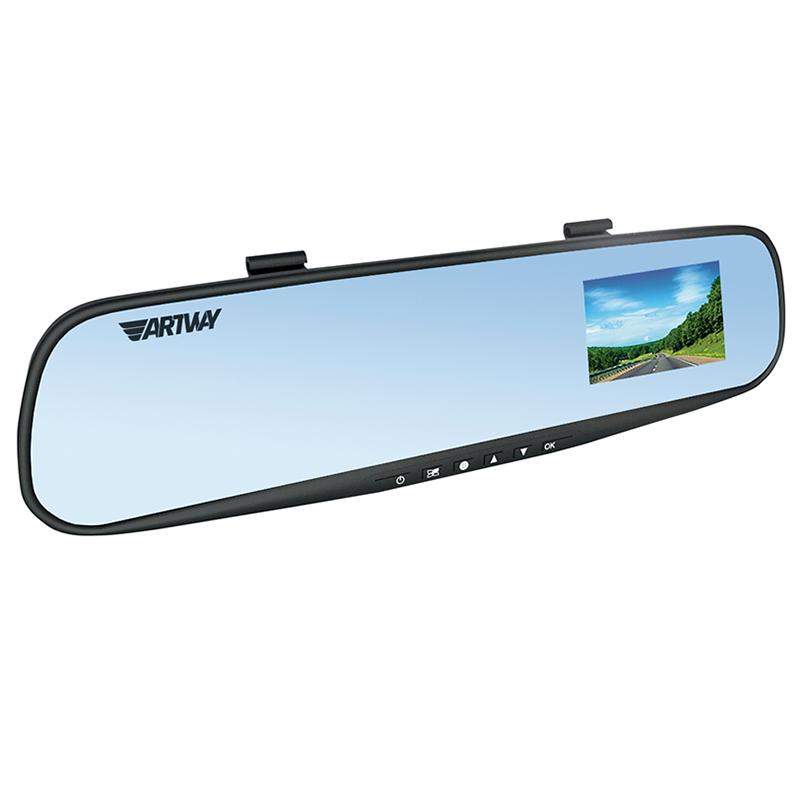 Видеорегистратор зеркало Artway AV-610 (1 камера) (+ Разветвитель в подарок!) цена