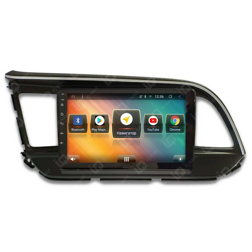 Автомагнитола IQ NAVI TS9-1623PFHD Hyundai Elantra VI Restyle (AD) (2019+) 9 DSP (4 CH) + 4G SIM (+ Камера заднего вида в подарок!)