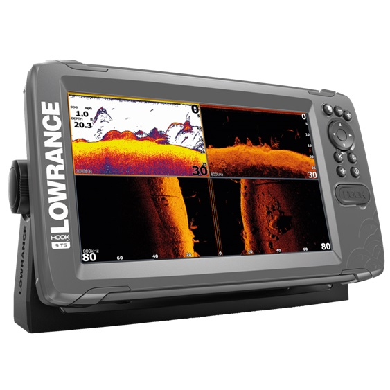 Lowrance HOOK2-9 with TripleShot US Coastal/ROW