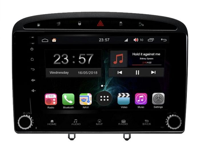 Штатная магнитола FarCar s300-SIM 4G для Peugeot 308/408 на Android (RG083RB) (+ Камера заднего вида в подарок!)