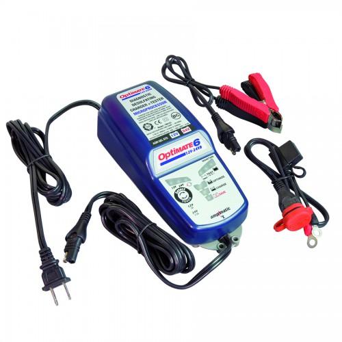 Зарядное устройство Optimate 6 12/24В TM194 (+ Салфетки из микрофибры для любых задач в подарок!) цена 2017