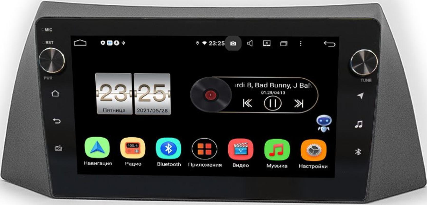 Штатная магнитола Chery Tiggo (T11) 2005-2013 LeTrun BPX609-1014 на Android 10 (4/64, DSP, IPS, с голосовым ассистентом, с крутилками) (+ Камера заднего вида в подарок!)