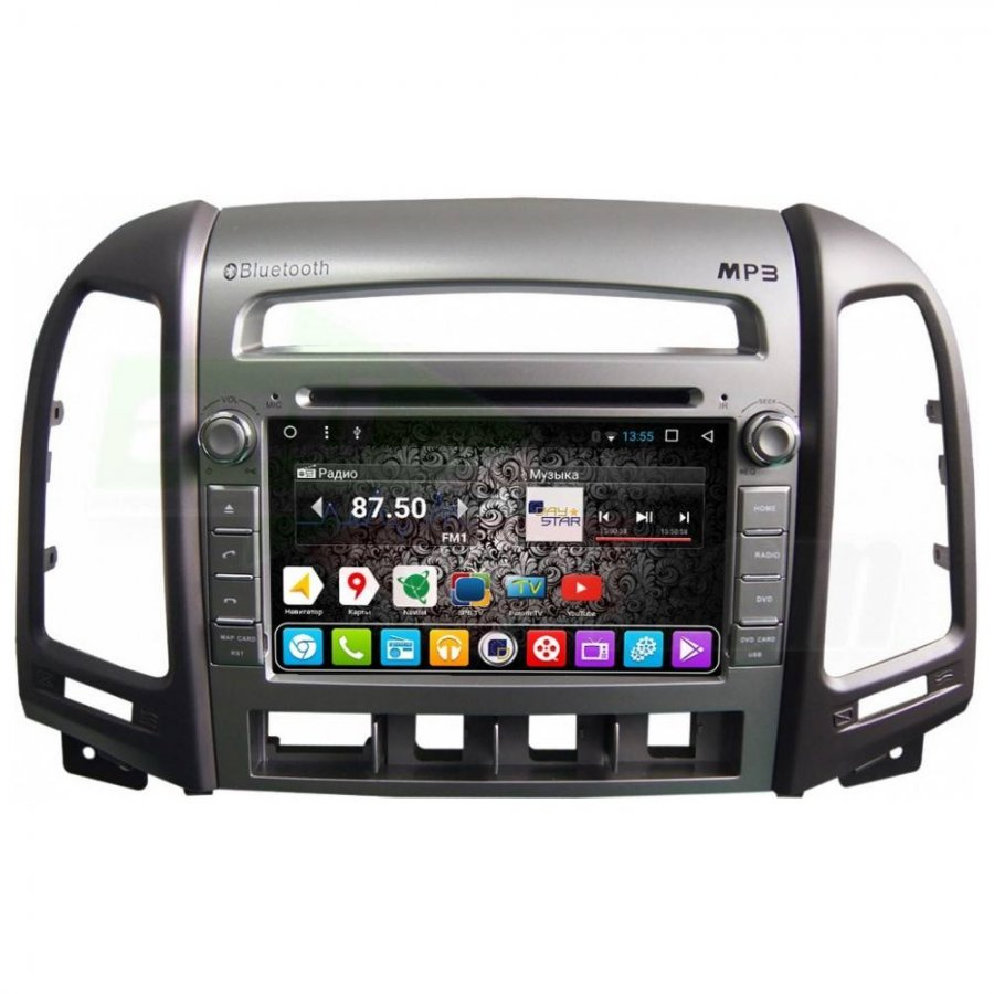 Штатная магнитола DayStar DS-7113HD Hyundai Santa Fe 2010-2012 ANDROID 8.1.0 (8 ядер, 2Gb ОЗУ, 32Gb памяти) pipo w4s dual boot 8 inch 2gb 32gb windows8 1
