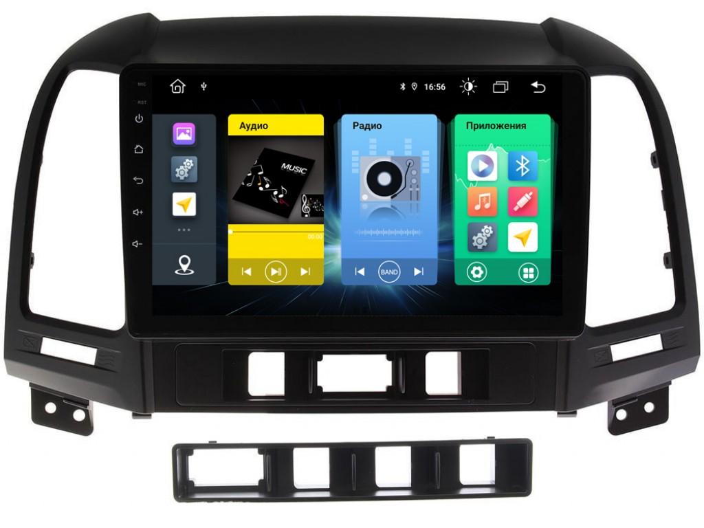 Головное устройство vomi FX371R9-MTK-LTE для Hyundai Santa Fe 2 2006-2012 CM (+ Камера заднего вида в подарок!)