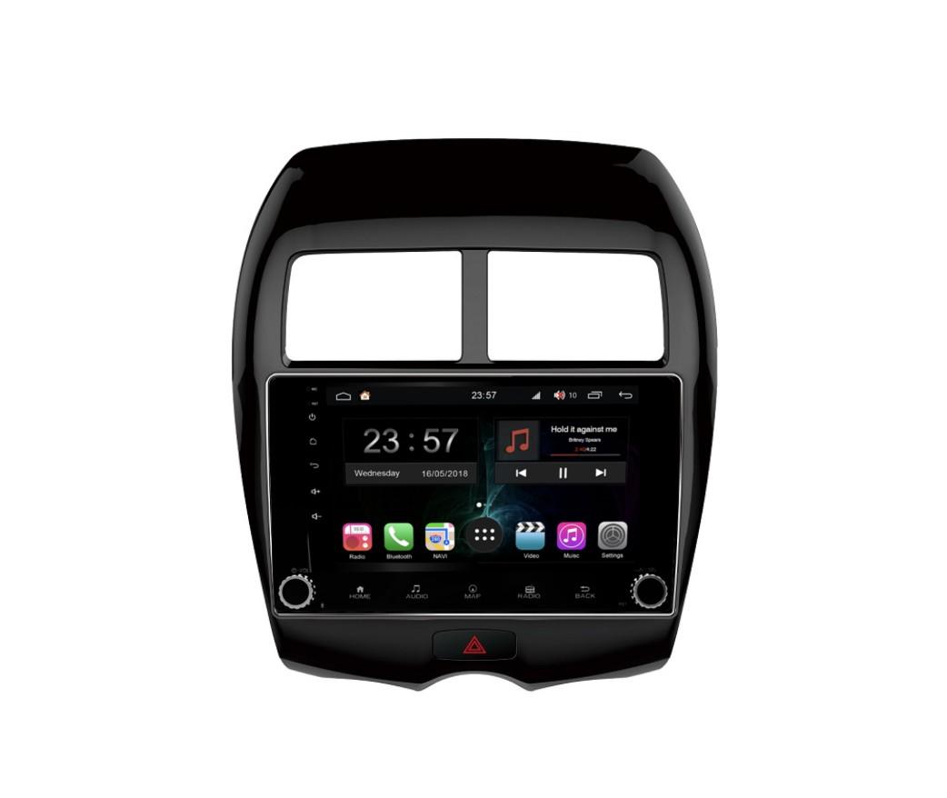 Штатная магнитола FarCar s300-SIM 4G для Mitsubishi Asx, Peugeot 4008, Citroen Aircross на Android (RG026RB) (+ Камера заднего вида в подарок!) камера заднего вида для mitsubishi и peugeot intro vdc 067 mitsubishi asx 2010 2014 peugeot 4008 2012 2014