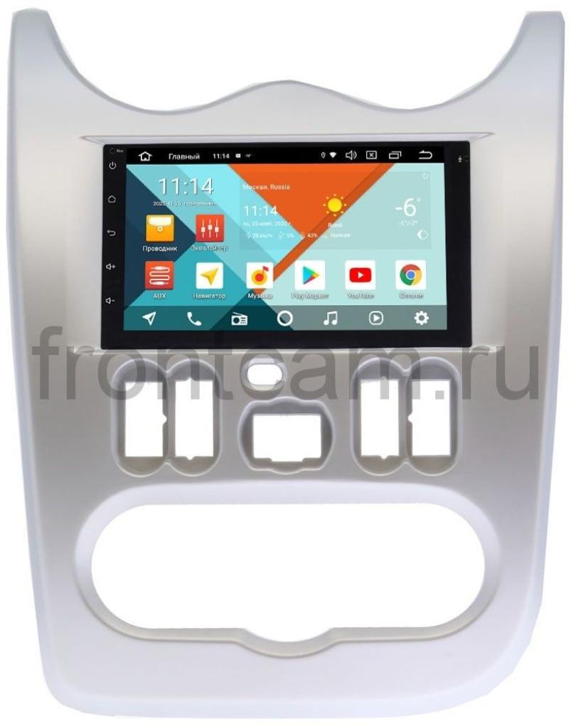 Штатная магнитола Lada Largus Wide Media KS7001QR-3/32-RP-RNLG-48 на Android 10 (DSP CarPlay 4G-SIM) (+ Камера заднего вида в подарок!)
