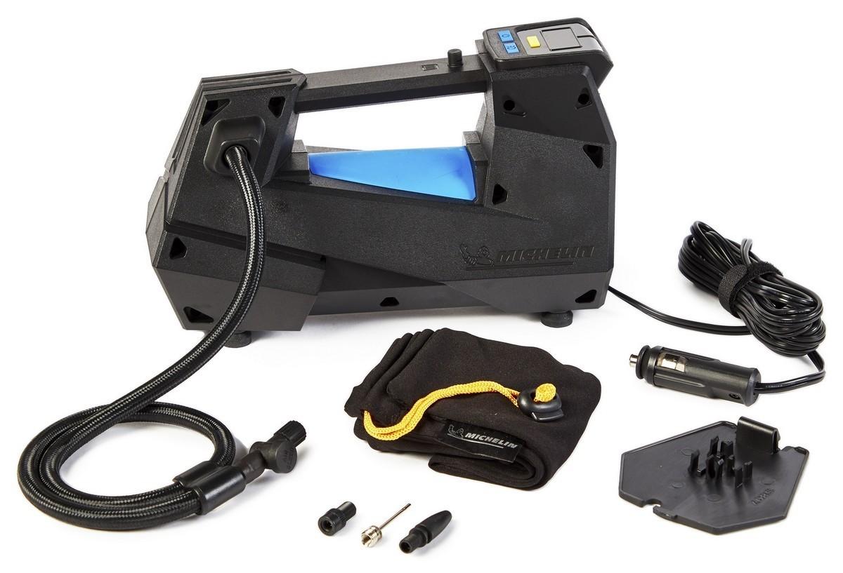 Картинка для Компрессор цифровой однопоршневой MICHELIN 12310(LED) (+ Мешки для колёс в подарок!)