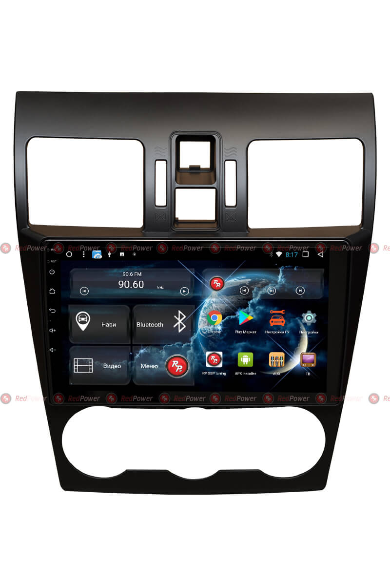 Штатная магнитола Redpower 31262 R IPS DSP для Subaru XV, Forester (Android 7) (+ Камера заднего вида в подарок!)
