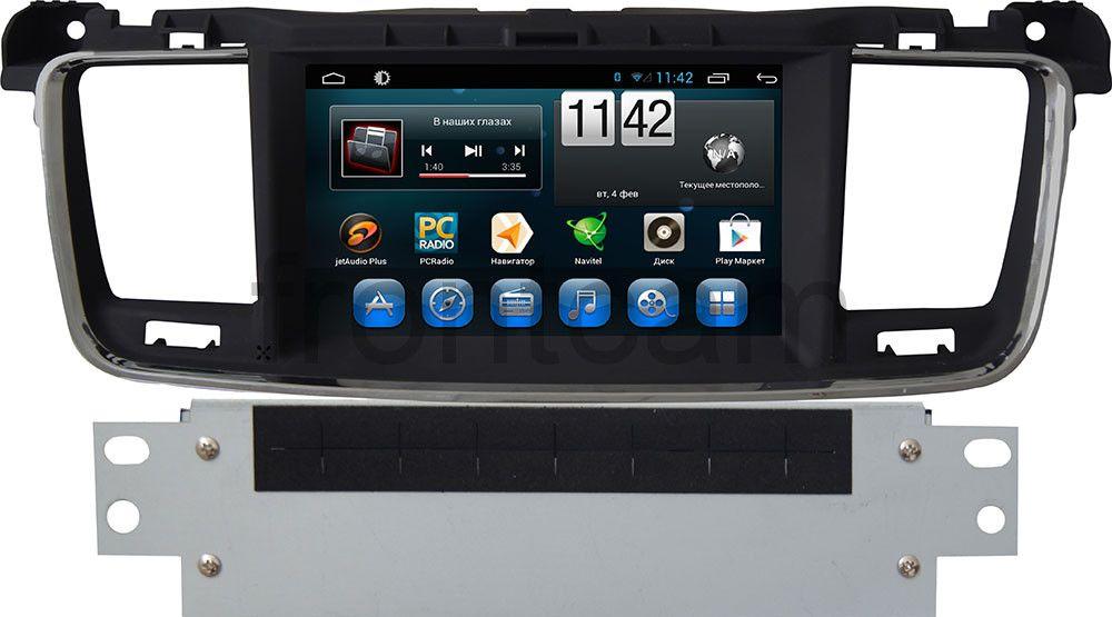 Штатная магнитола для Peugeot 508 I 2012-2018 CARMEDIA KR-7068-T8 на Android 7.1 (+ камера заднего вида) штатная магнитола для bmw 3 2005 2012 e90 e91 e92 e93 carmedia kr 9090 t8 android 8 1