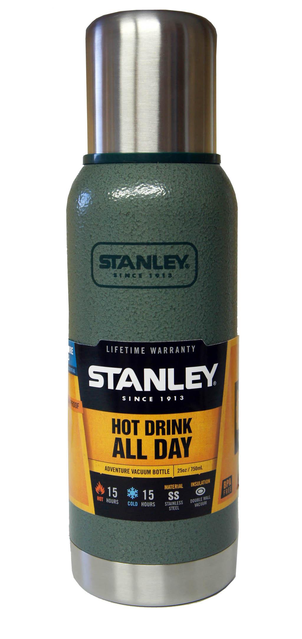Термос Stanley Adventure (0.75л) зеленый