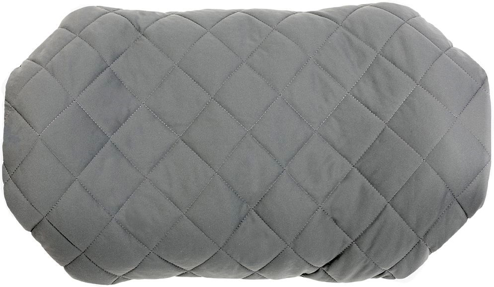 Надувная подушка Pillow Luxe Grey, серая