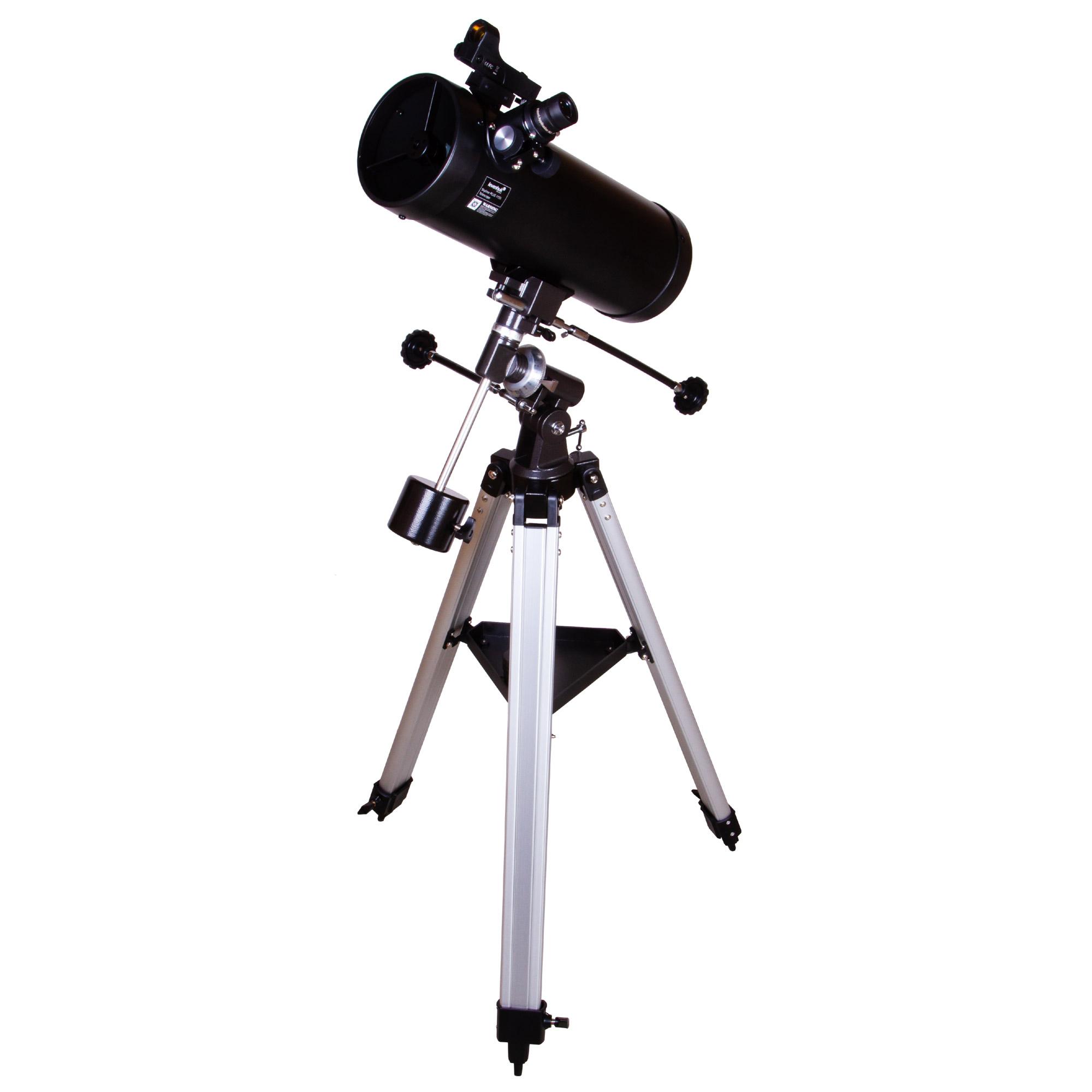 Фото - Телескоп Levenhuk Skyline PLUS 115S (+ Книга «Космос. Непустая пустота» в подарок!) телескоп levenhuk skyline base 60t книга космос непустая пустота в подарок