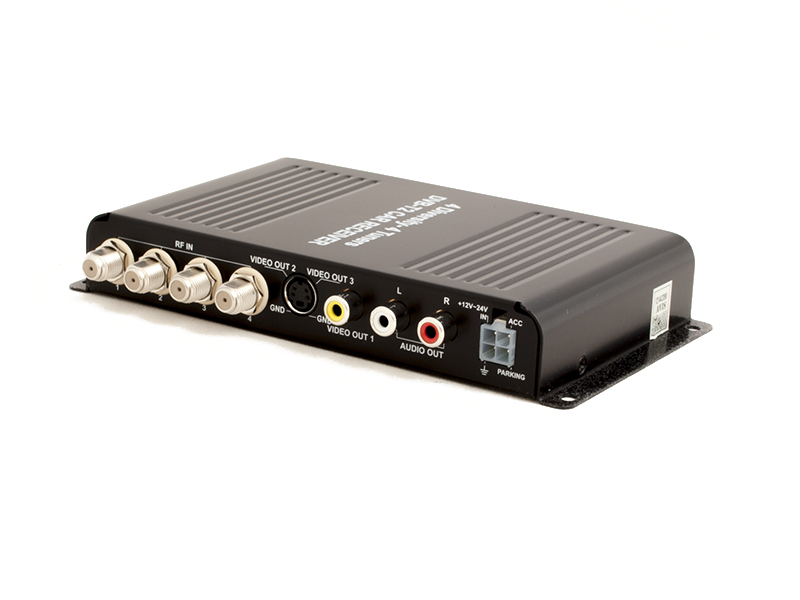 Автомобильный цифровой HD ТВ-тюнер DVB-T2 компактного размера AVIS AVS7004DVB тв тюнер читающий все форматы