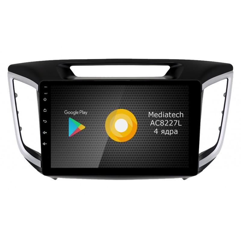Штатная магнитола Roximo S10 RS-2010-N17 для Hyundai Creta (Android 9.0) (+ Камера заднего вида в подарок!)