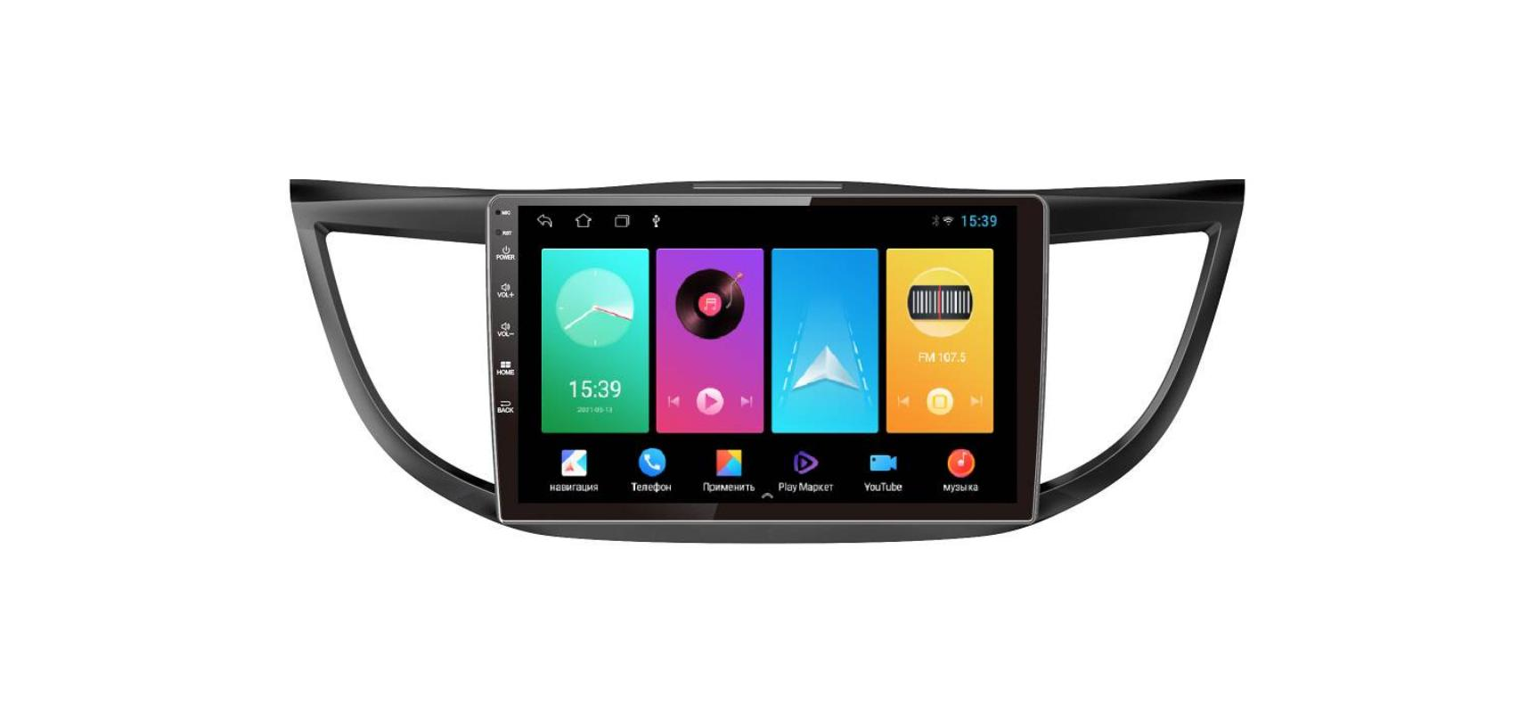 Штатная магнитола FarCar для Honda CR-V на Android (D469M)