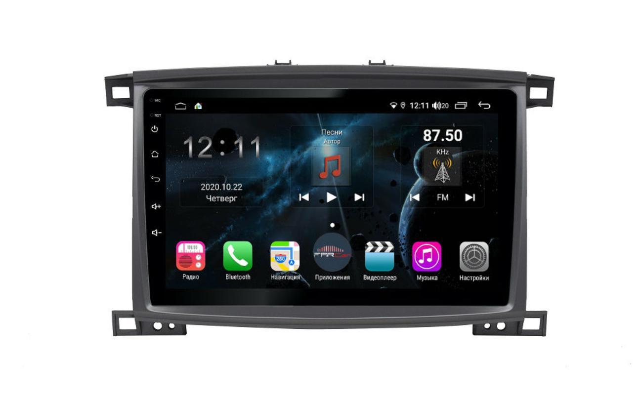Штатная магнитола FarCar s400 для Toyota Land Cruiser 100 на Android (H457/1166R) (+ Камера заднего вида в подарок!)