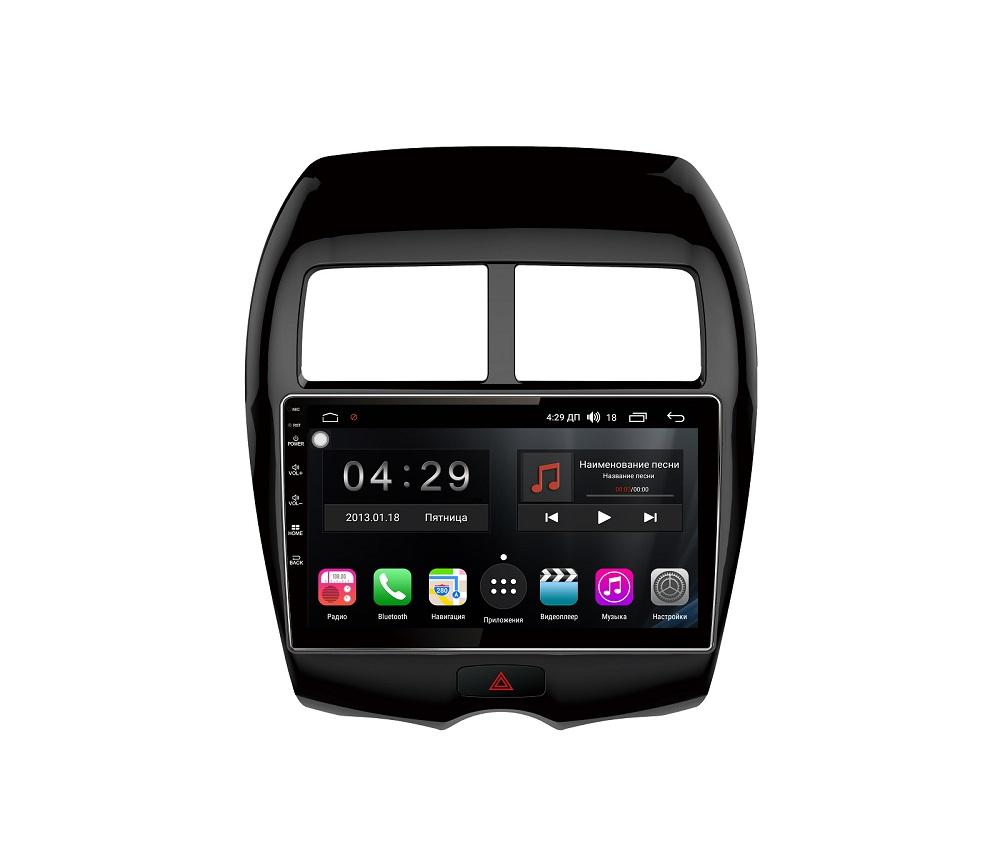 Штатная магнитола FarCar s300-SIM 4G для Mitsubishi Asx, Peugeot 4008, Citroen Aircross на Android (RG026R) (+ Камера заднего вида в подарок!) камера заднего вида для mitsubishi и peugeot intro vdc 067 mitsubishi asx 2010 2014 peugeot 4008 2012 2014