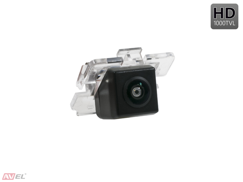 CCD HD штатная камера заднего вида AVS327CPR (#060) для MITSUBISHI OUTLANDER II XL (2006-2012) / OUTLANDER III (2012-...) / LANCER X HATCHBACK / CITROEN C-CROSSER / PEUGEOT 4007