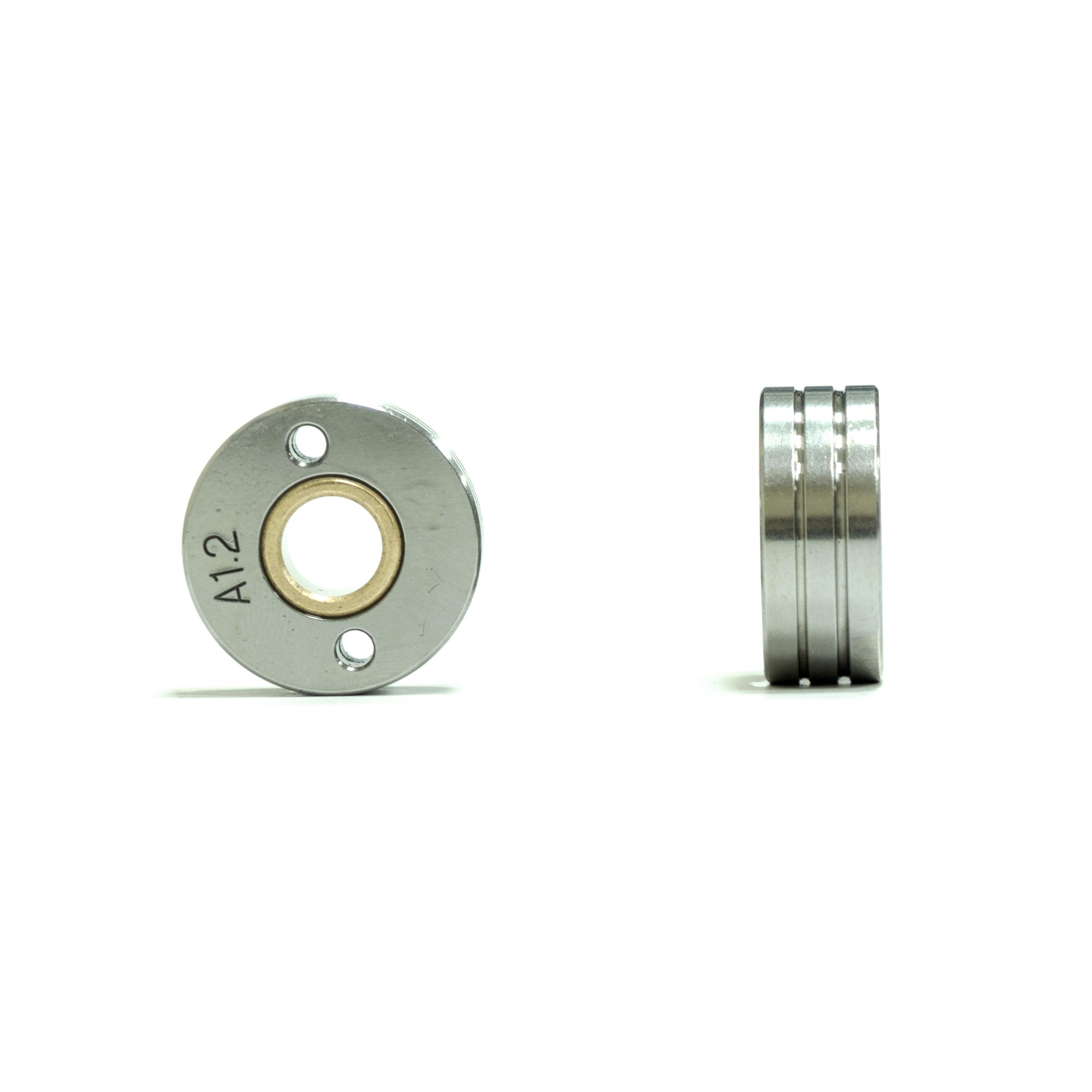 Ролик AL 1.0-1.2мм /SKYWAY 300-330