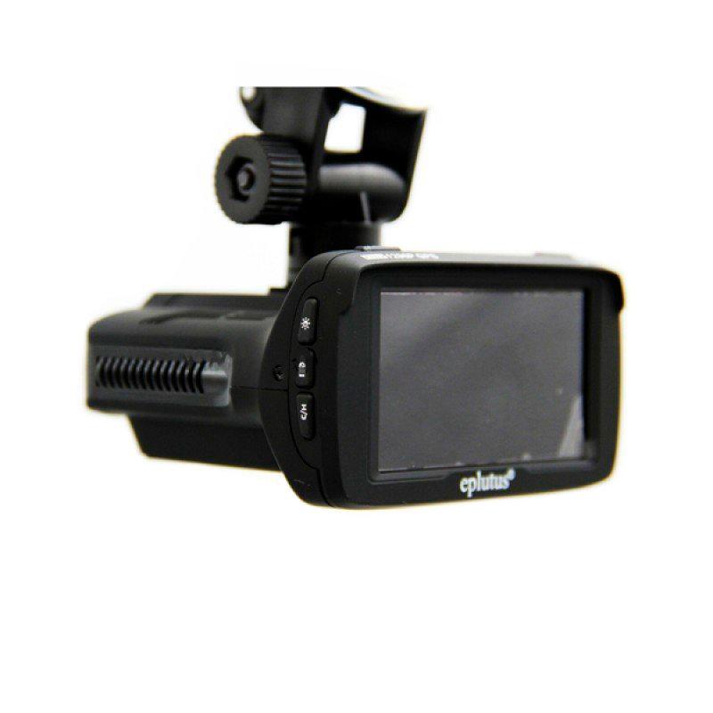 Видеорегистратор Eplutus GR-92p с антирадаром и GPS (+ Разветвитель в подарок!) eplutus gr 96 видеорегистратор с радар детектором и gps разветвитель в подарок