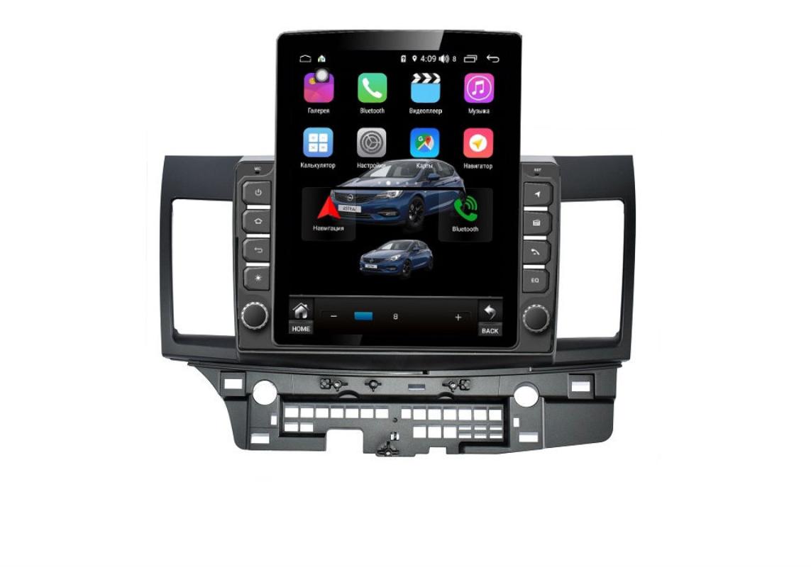 Штатная магнитола FarCar s300+SIM 4G для Mitsubishi Lancer на Android (RT037R) (+ Камера заднего вида в подарок!)