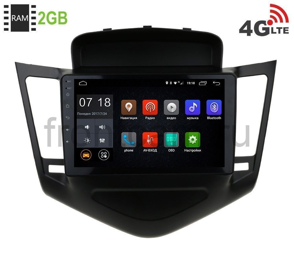 Штатная магнитола LeTrun 1893 для Chevrolet Cruze 2009-2013 Android 6.0.1 new xduoo x2 sd card mp4 music player lossless hifi digital music support dsd ape flac wavwma ogg mp3 dual sd slot mp4 player