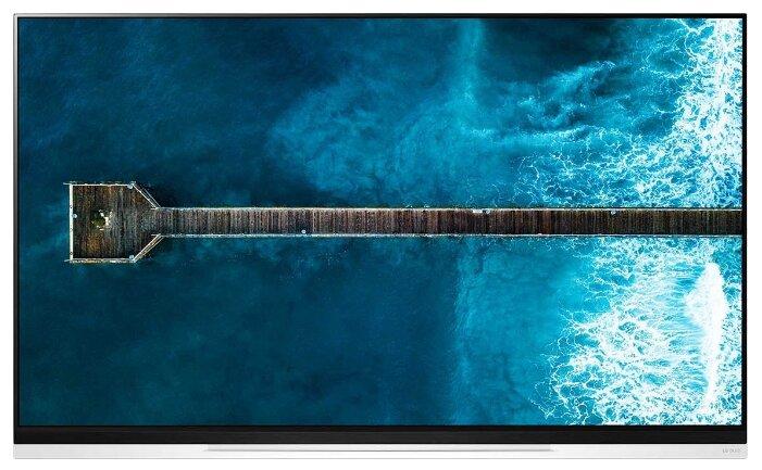 Телевизор LG OLED55E9PLA серебристый/Ultra HD/120Hz/DVB-T/DVB-T2/DVB-C/DVB-S/DVB-S2/USB/WiFi/Smart TV (RUS)