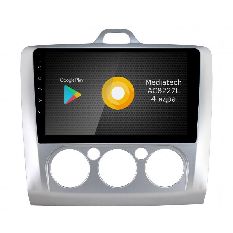 Фото - Штатная магнитола Roximo S10 RS-1702M для Ford Focus 2, S-max (Android 8.1) (+ Камера заднего вида в подарок!) видео
