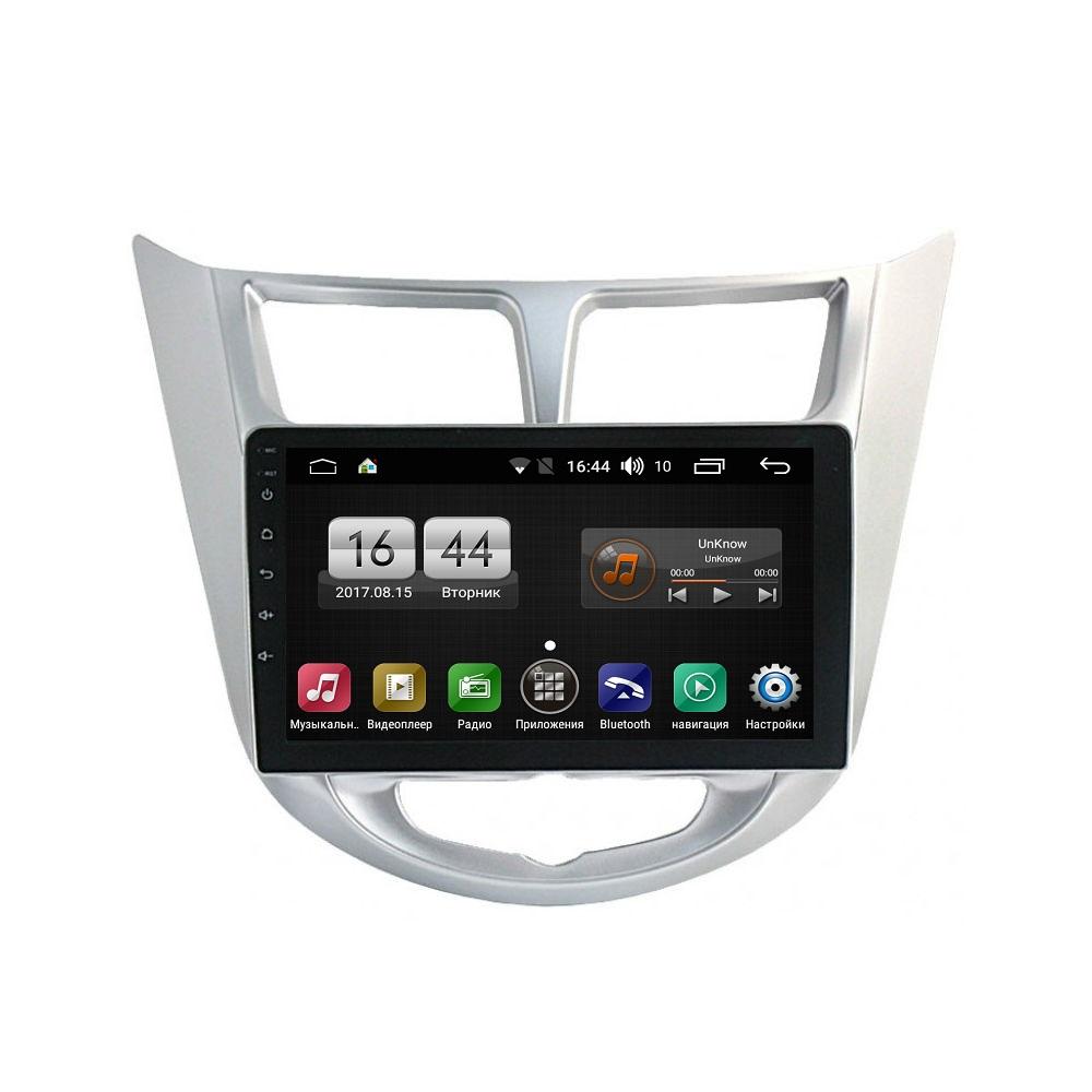 Штатная магнитола FarCar s175 для Hyundai Solaris на Android (L067R)