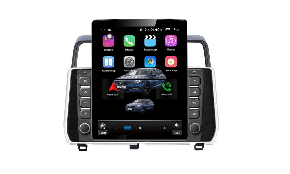 Штатная магнитола FarCar s300+SIM 4G для Toyota Land Cruiser Prado 150 на Android (RT1053R) (+ Камера заднего вида в подарок!)