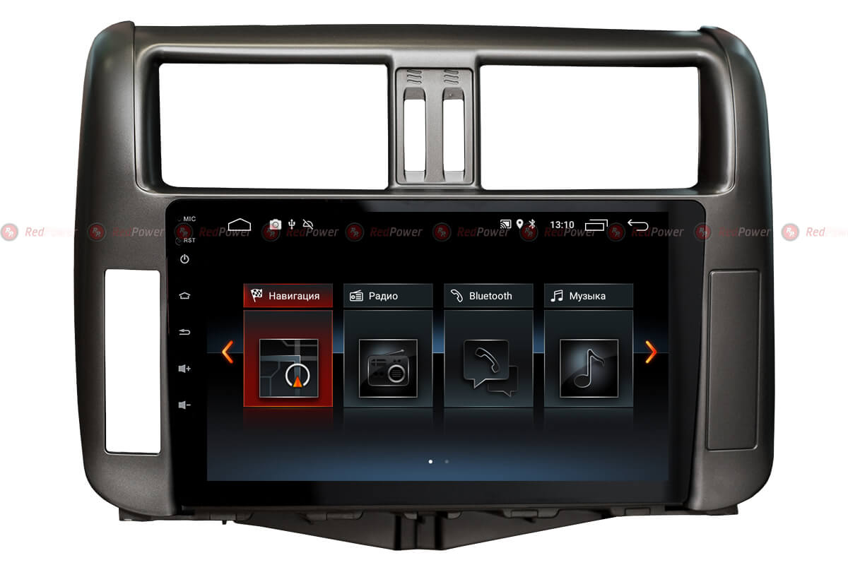 Автомагнитола Redpower 30065 IPS Toyota Land Cruiser Prado 150 (2010-2013) Android 8.1 (+ Камера заднего вида в подарок!)