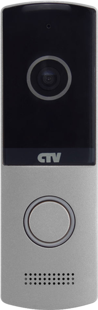 Вызывная панель для видеодомофонов CTV-D4003AHD (серебристый) вызывная панель для видеодомофонов ctv d3001 серебристый