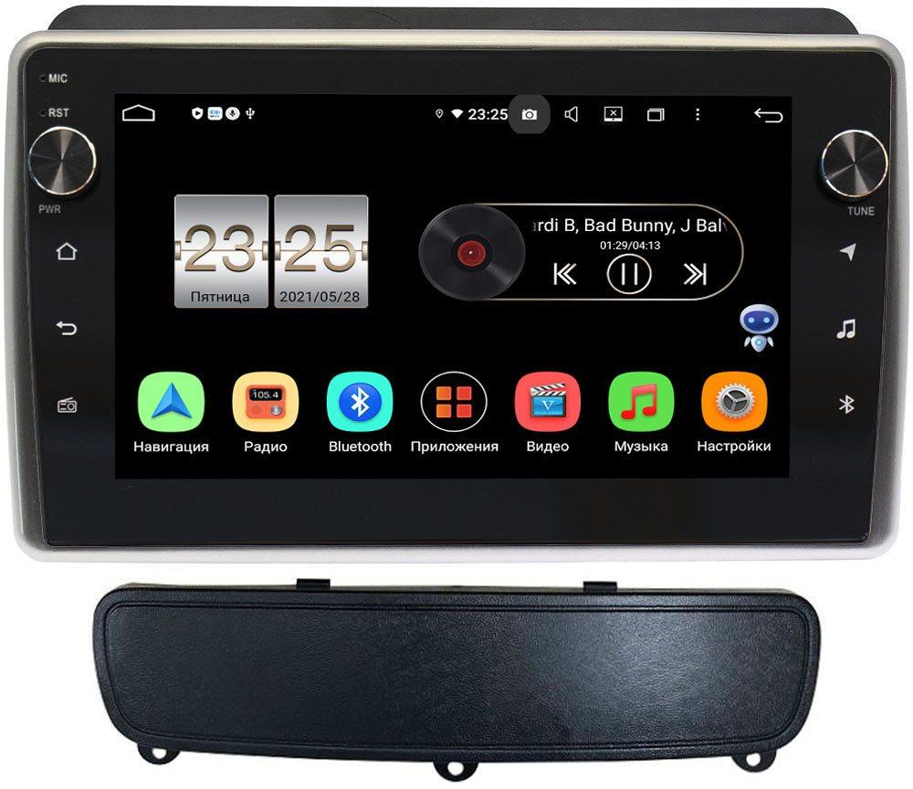 Штатная магнитола Kia Sorento 2 (2012-2019) для авто с NAVI LeTrun BPX409-9199 на Android 10 (4/32, DSP, IPS, с голосовым ассистентом, с крутилками) (+ Камера заднего вида в подарок!)