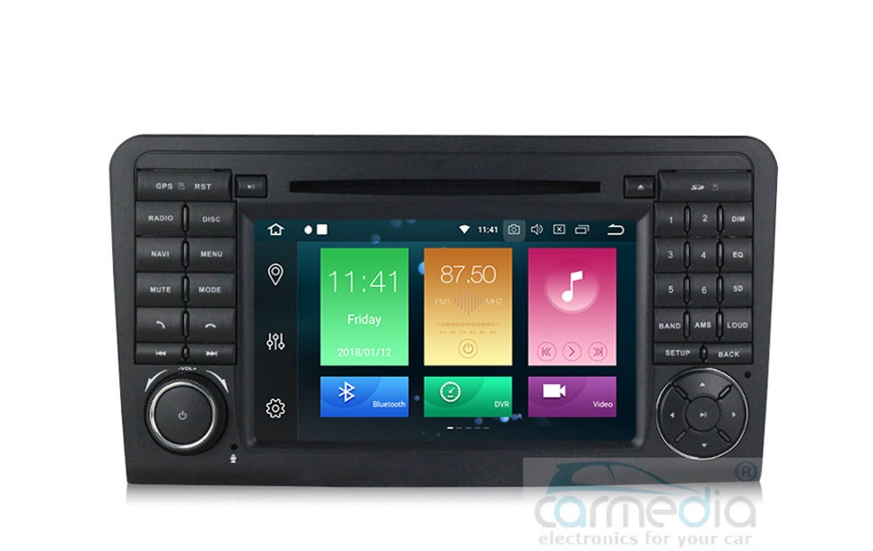 Штатная магнитола CARMEDIA MKD-M792-P30-8 Mercedes ML класс W164 2005-2011, GL класс X164 2006-2012 (есть отдельно оптический активатор усилителя, без ДВД) Android 9.0 (+ камера заднего вида) turbocharger core gt2256v turbo cartridge chra for mercedes m 270 cdi w163 om612 120kw 2000 2005 a6120960599 6120960599