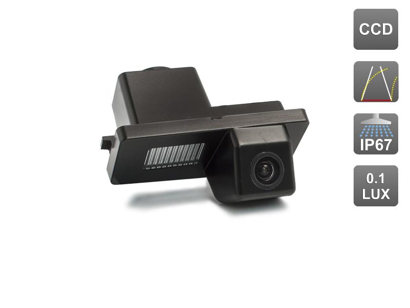 CCD штатная камера заднего вида с динамической разметкой AVIS Electronics AVS326CPR (#078) для SSANGYONG REXTON/ KYRON/ ACTYON SPORTS